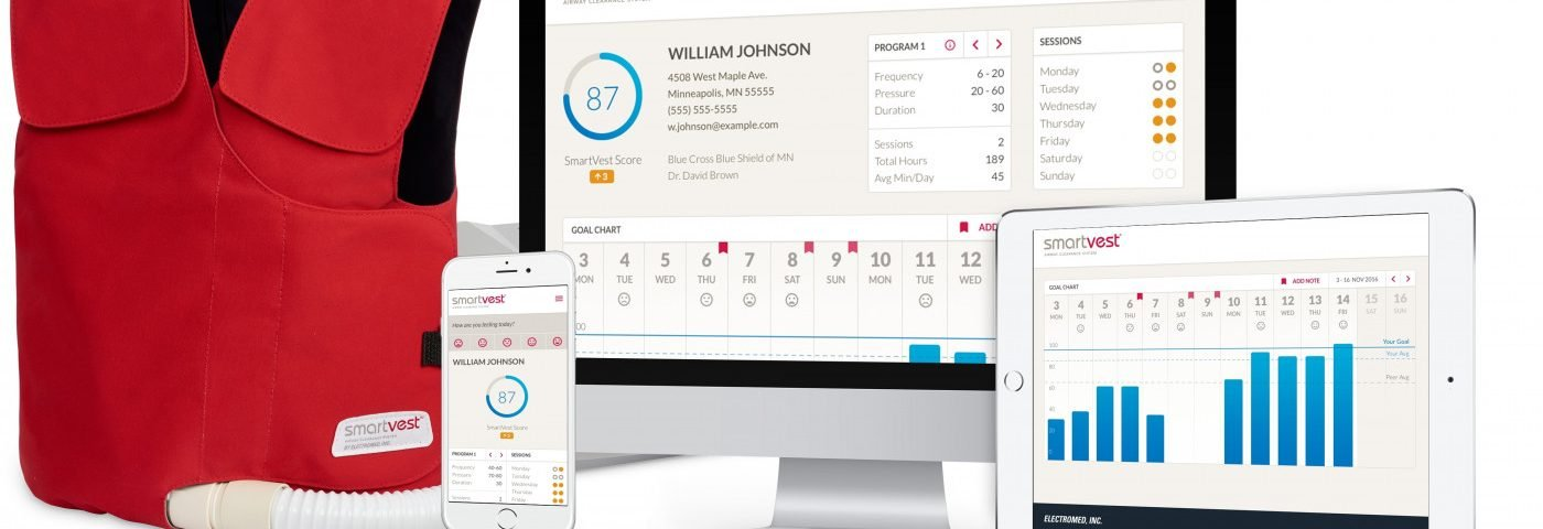 Electromed Launches SmartVest Connect Wireless Technology for Patients with Compromised Pulmonary Function